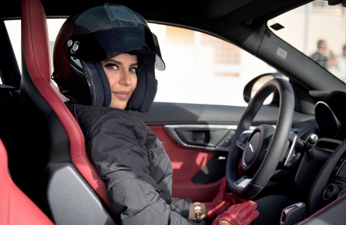 Jaguar, Saudi woman racer declare annual World Driving Day