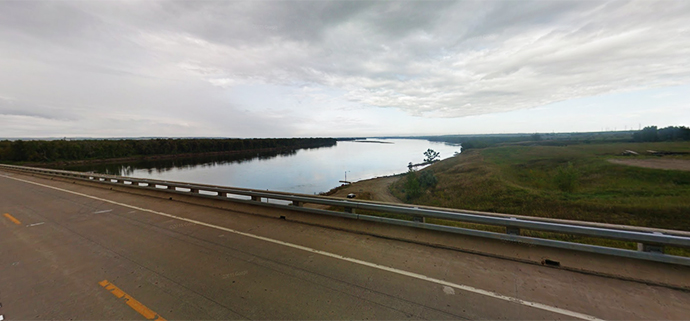 Sakakawea Scenic Byway in North Dakota | Google Maps photo