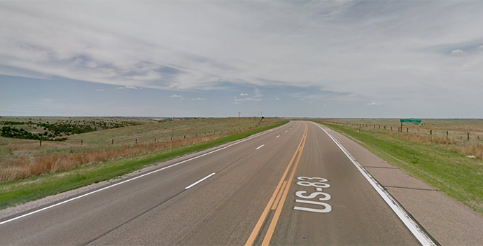 U.S. 83 in Nebraska | Google Maps photo
