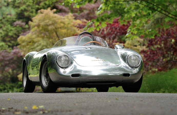 Crown-jewel Porsche 550A Spyder set for Mecum's Monterey sale