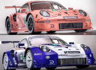 Historic liveries will line Porsche's 911 RSR race cars at Le Mans