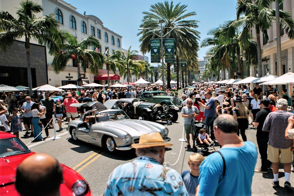 Rodeo Drive Concours Marks Th Anniversary In Beverly Hills - Beverly hills car show