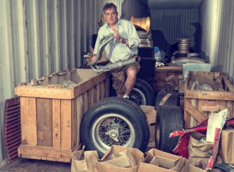 Coys finds 'Tut's tomb' of classic car parts