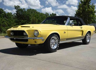 Barrett-Jackson countdown: '68 Shelby GT500 convertible