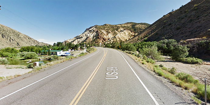 U.S. 89 in Utah | Google Maps photo