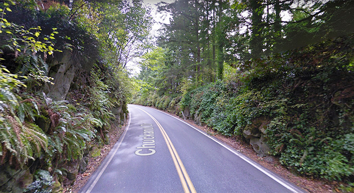 Chuckanut Drive in Washington | Google Maps photo