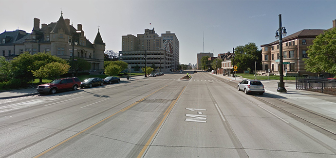 Woodward Avenue in Michigan | Google Maps photo