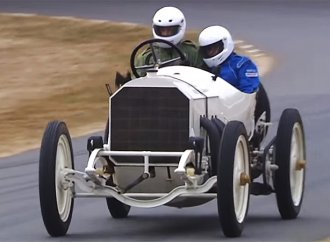Watch 110-year-old Mercedes-Benz on Goodwood hillclimb