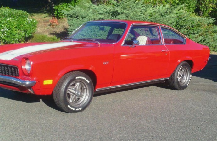 Family favorite: 1973 Chevy Vega GT