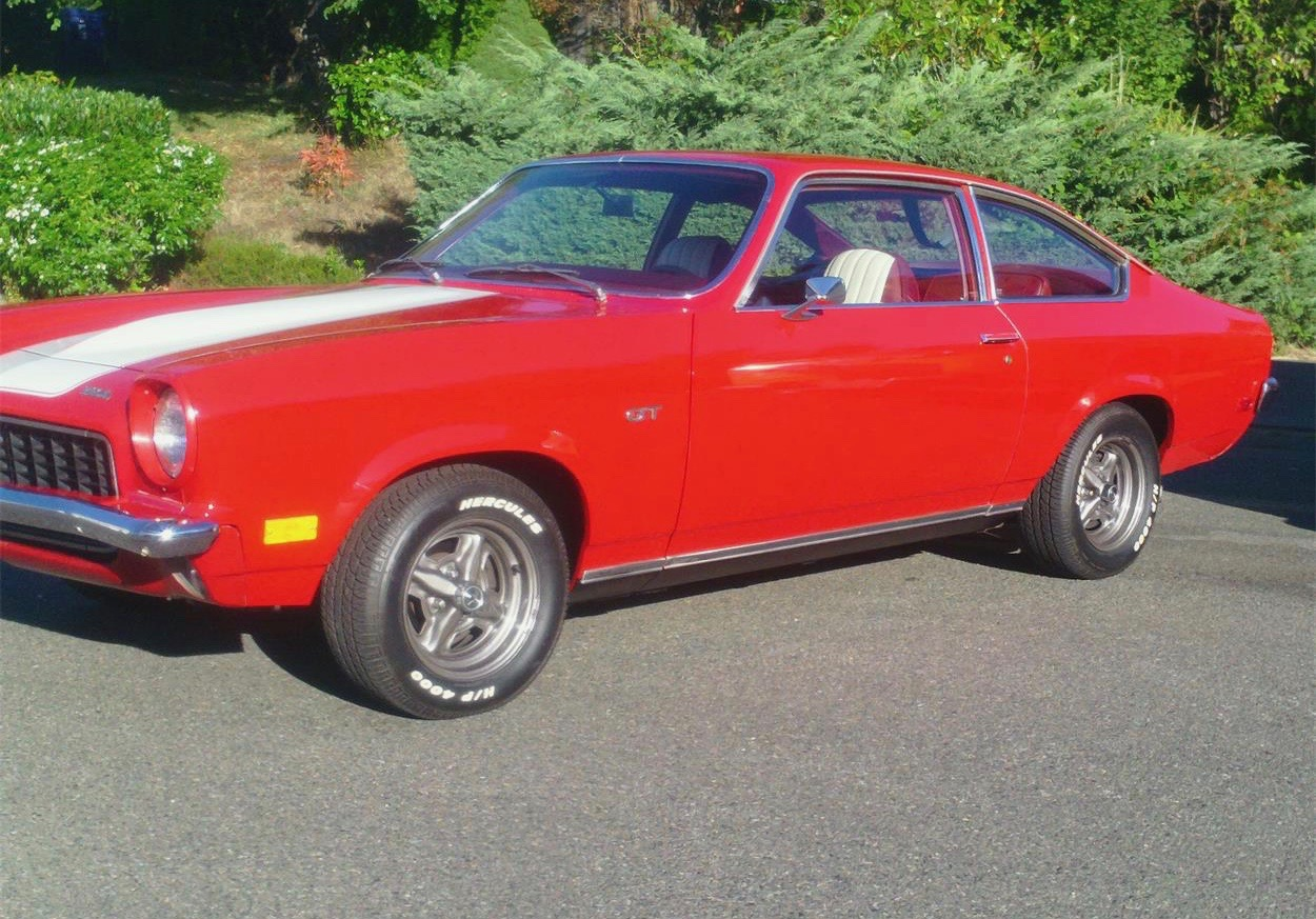 It S A Family Favorite Racy 1973 Chevy Vega Gt For Sale
