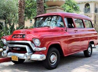 Full-size 1956 GMC Suburban