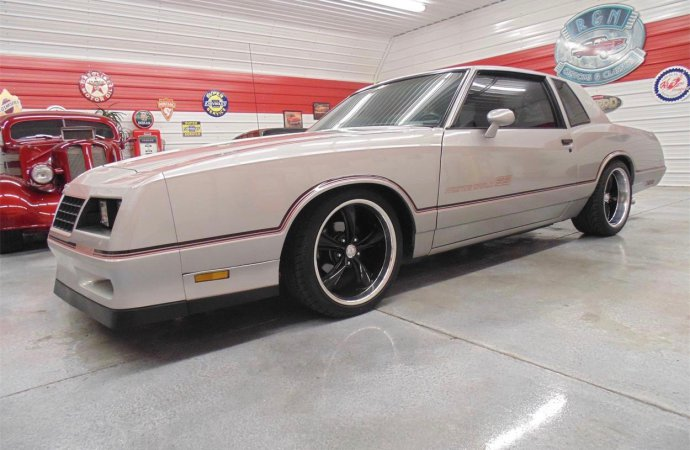 '85 Monte Carlo SS driven only 40,558 miles