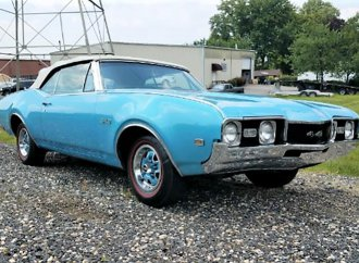 Premium muscle 1968 Oldsmobile 4-4-2 convertible