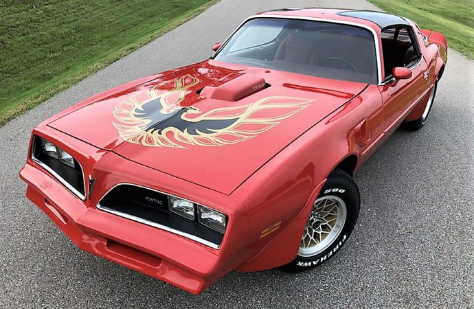 What if the Bandit's Trans Am was red instead of black?
