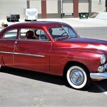 Lead-sled 1950 Mercury coupe