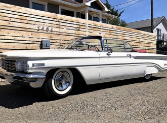 Most-exuberant 1960 Oldsmobile Super 88 convertible