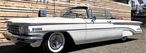 Most-exuberant 1960 Oldsmobile Super 88 convertible
