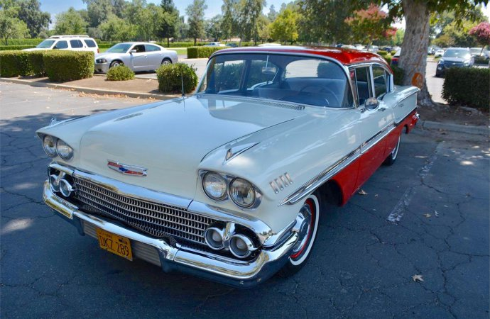 14,634-mile 1958 Chevy survivor