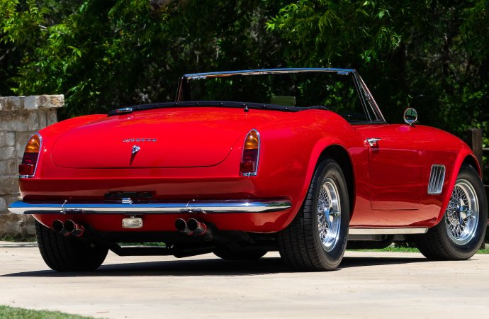 The red paint also looks to be pristine. | Mecum photo