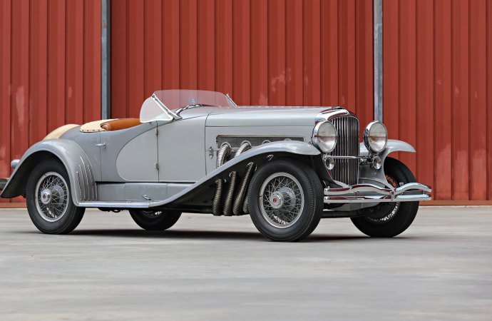 Acclaimed Gary Cooper Duesenberg SSJ headed to auction