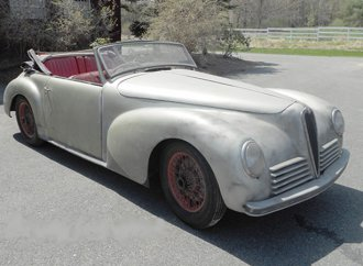 American shop restoring Nazi-ordered Alfa Romeo cabriolet