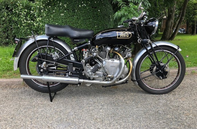Motorcycle auction sets record for H&H