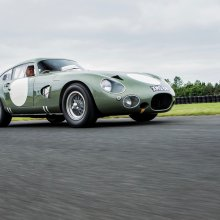 Record-breaking 1963 Aston Martin Le Mans racer joins RM Sotheby's Monterey docket