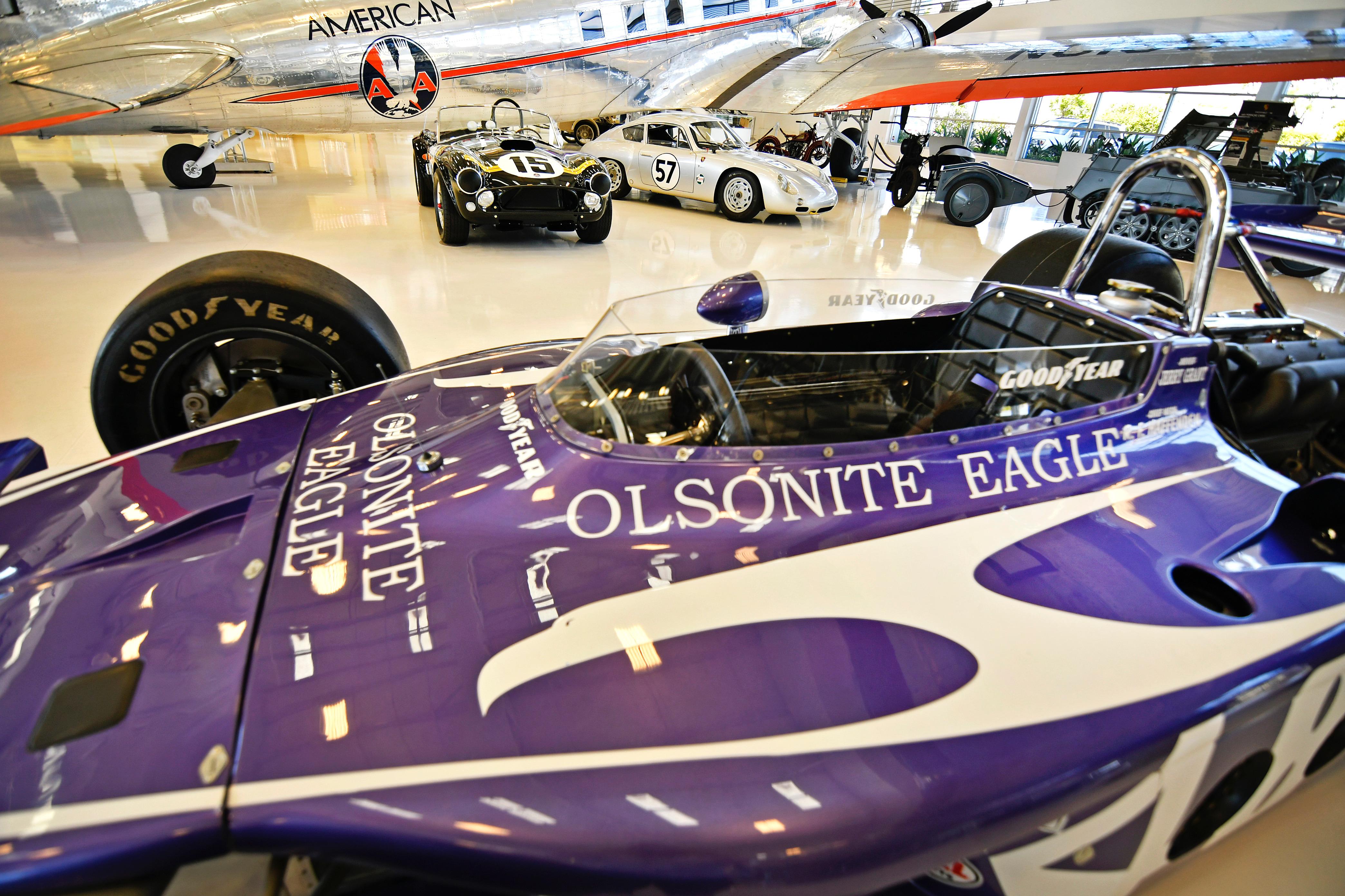 California air museum features Gurney s racing cars