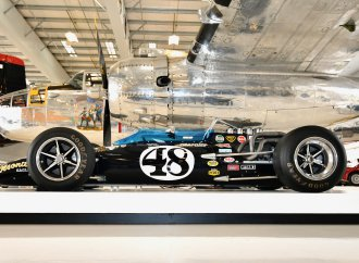 Air museum features Gurney's racing cars