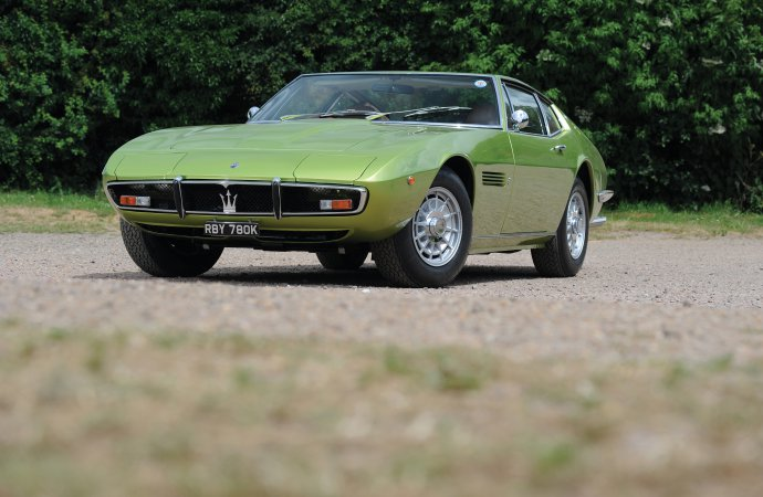 Celebrity 6-Pack: RM Sotheby's lands Maserati collection for London sale