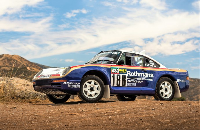 Original Porsche 959 rally racer in RM Sotheby's Atlanta auction