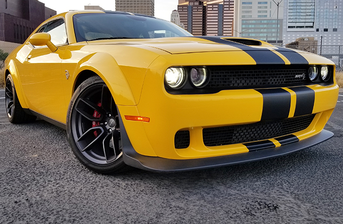 The 2018 Dodge Challenger SRT Hellcat Widebody is pure, out-of-this-world American muscle with a lot of nods to practicality. | Carter Nacke photo