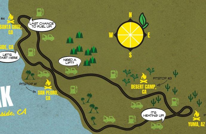 Hell on Wheels describes Lemons Rally