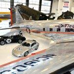 63 Shelby Cobra-61 Porsche Carrera-DC3 plane #4294-Howard Koby photo