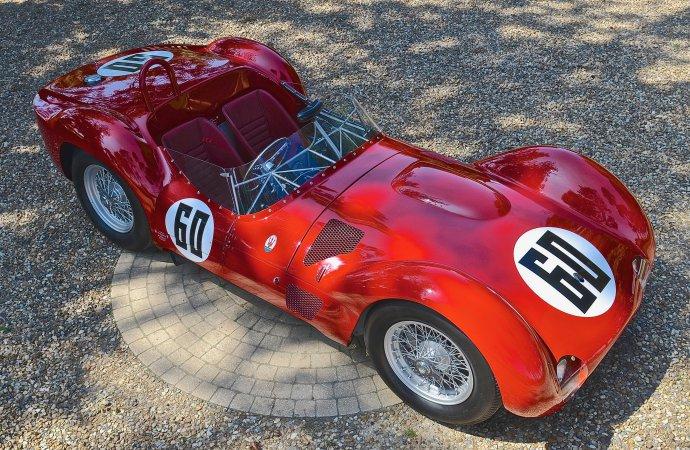 'Birdcage' Maserati on auction docket at Schloss Dyck