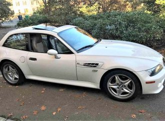 Fast 'clown shoe' 2000 BMW Z3 M coupe with 240-horsepower