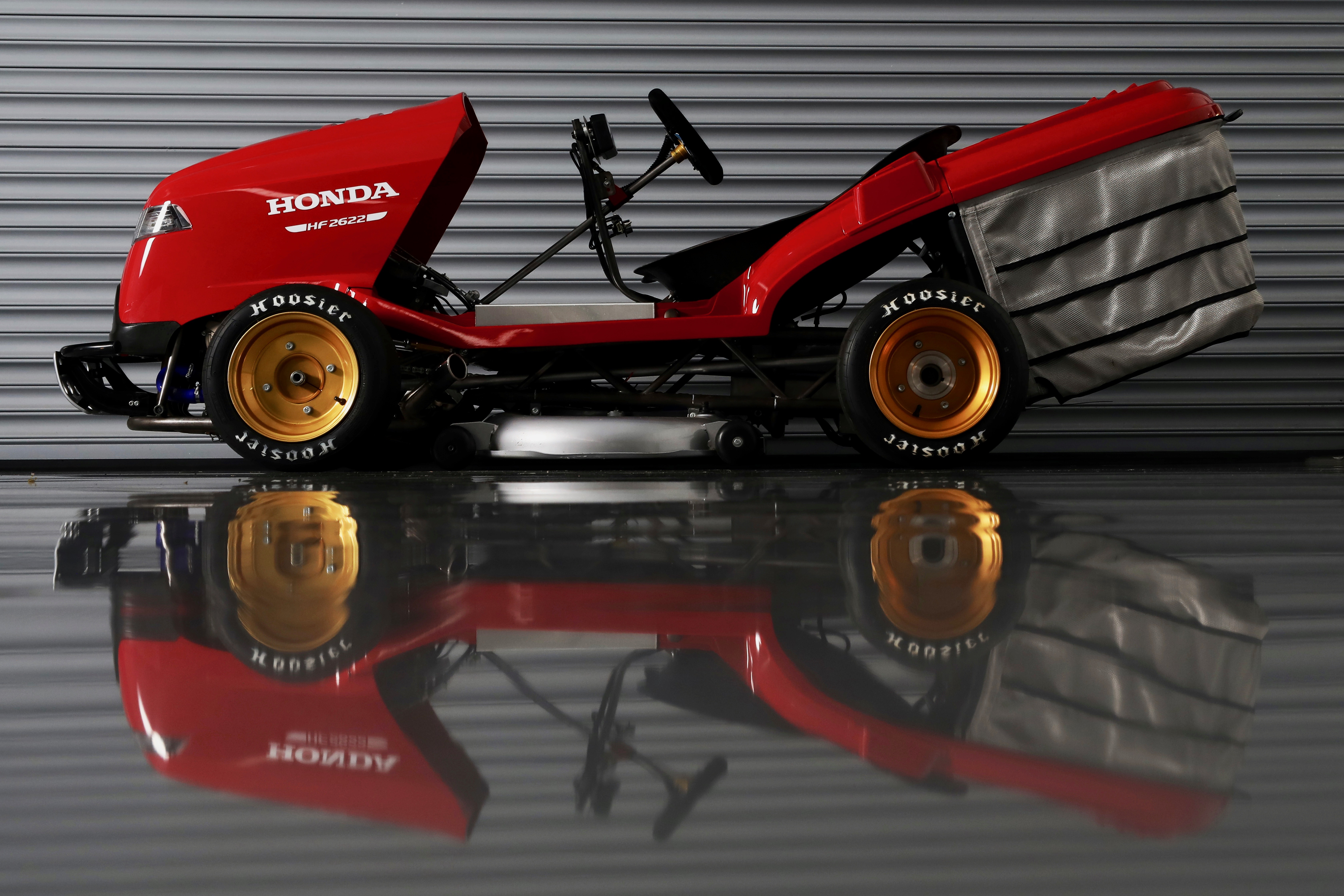 Honda seeks to regain honors for world's fastest lawnmower