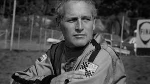 Paul Newman wearing a RACEMARK suit. | RACEMARK photo