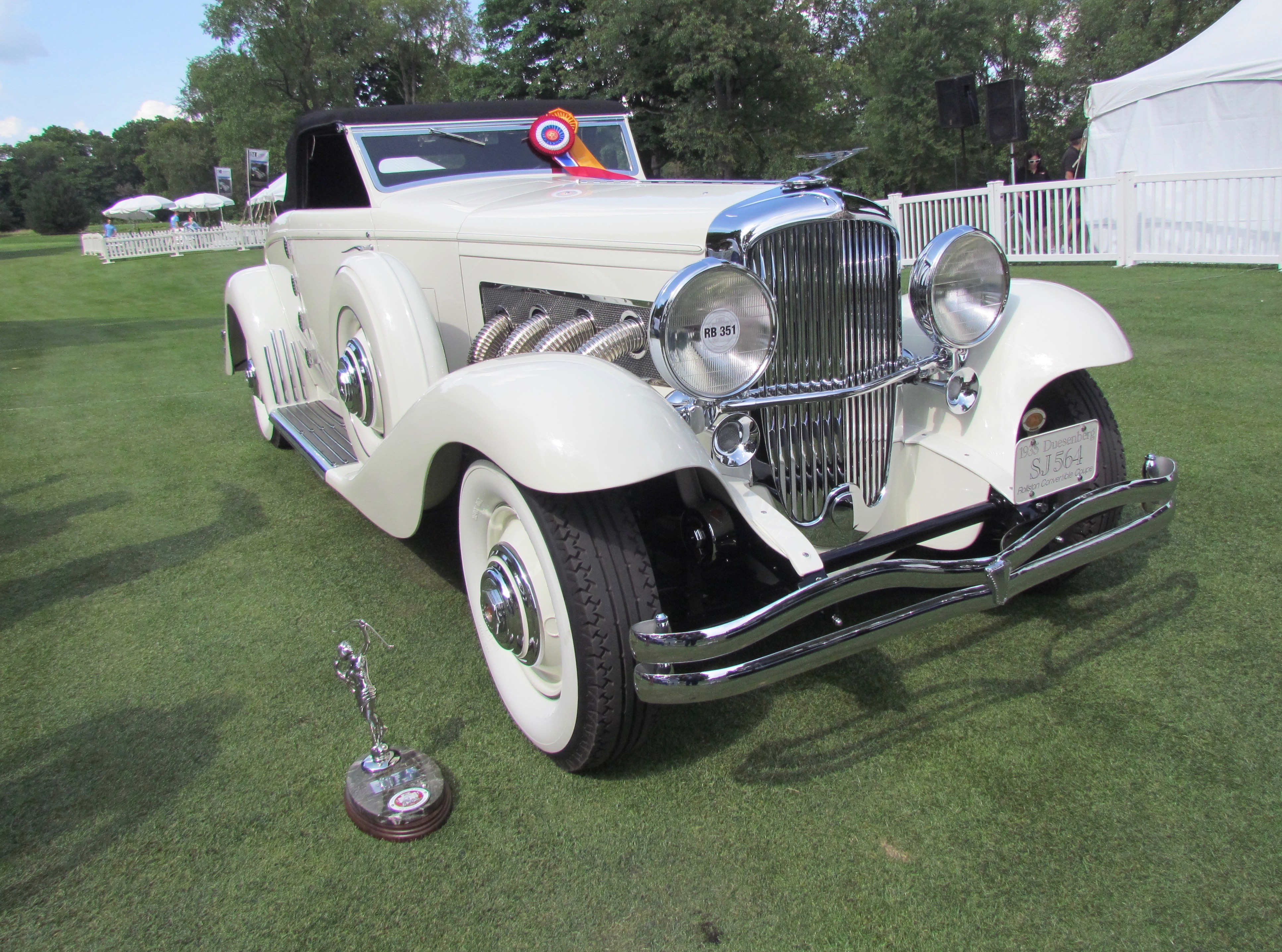 Detroit concours, '35 Duesenberg, '37 Bugatti take honors at Concours of America, ClassicCars.com Journal