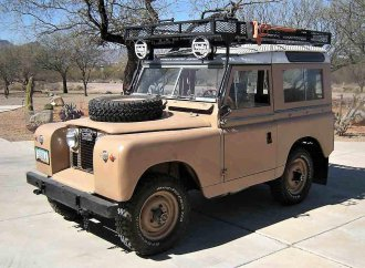Off-road champ 1959 Land Rover