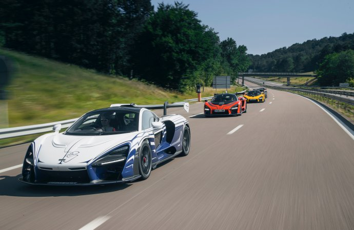 First to own a McLaren Senna takes it on a long road trip