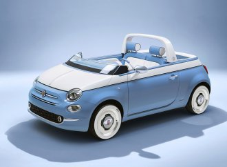 Back to the beach: Garage Italia, Fiat unveil Fiat 500 'Spiaggina'