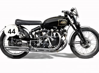 Fastest Vincent, Steve McQueen bike at Bonhams motorcycle sale