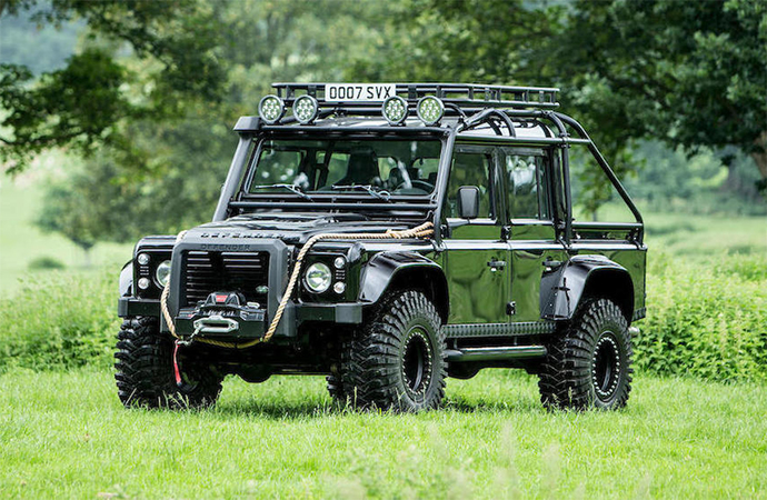 This Land Rover is only one of 10 made for the James Bond film Spectre and you can own it. | Bonhams photo