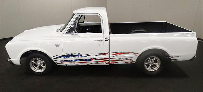This C10 celebrates America, but in a subtle manner. | ClassicCars.com photo