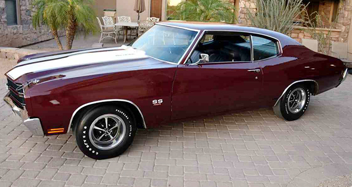 The1970 Chevelle SS454 LS6 was one of a slew of cars that resulted from the muscle wars. | ClassicCars.com photo