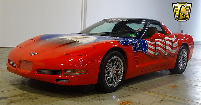 This Corvette pays homage to the victims of 9/11. | ClassicCars.com photo