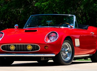 'Ferris Bueller's Day Off' Ferrari on the block at Mecum Monterey