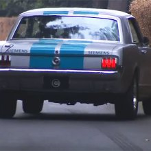 Self-driving classic Mustang has less-than-stellar day at Goodwood