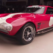 Jay Leno drives Superformance's Corvette Grand Sport